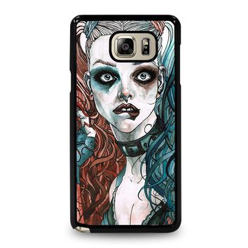 HARLEY QUINN ART Samsung Galaxy Note 5 Case Cover