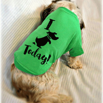 I {doo doo'd} Today! Cute Dog T-Shirts. Small Pet Clothes. Gift for Dog Lover.