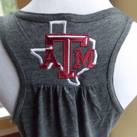 Texas A&M Ladies Racerback Tank Top