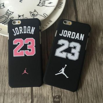 PEAPDQ7 Cool Jordan 23 Print Iphone X 8 8 Plus 7 7 Plus 5 5S SE 6 6s Plus Cover Case