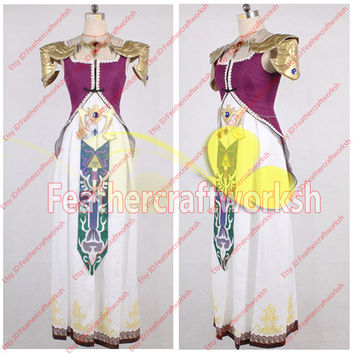 The Legend of Zelda Princess Costume Zelda Dress