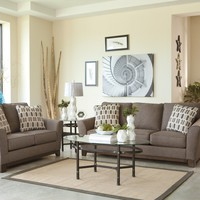 43804 - The Janley Living Room Set - Brown