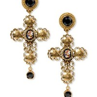 Dolce Gabbana Earrings - Dolce Gabbana Jewelry Women - thecorner.com