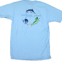 Light Blue Offshore Pocket T by Atlantic Drift | Atlantic Drift