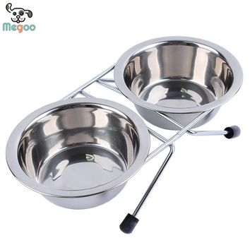 4 Size Stainless Steel Hanging Bowl Feeder