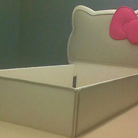 Hello Kitty Inspired Toddler Bed