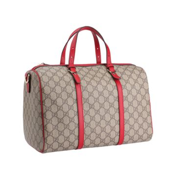 GUCCI Women's GG Supreme Boston Bag 322231 KGD6G 9778 Authentic NEW