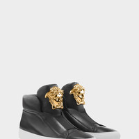 Versace Palazzo High-Top Trainers for Women | Official Website