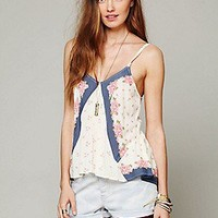 Free People  Clothing Boutique > Mixed Print Tank