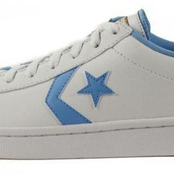 CREYONV converse for men chuck taylor pro leather ox white sneakers