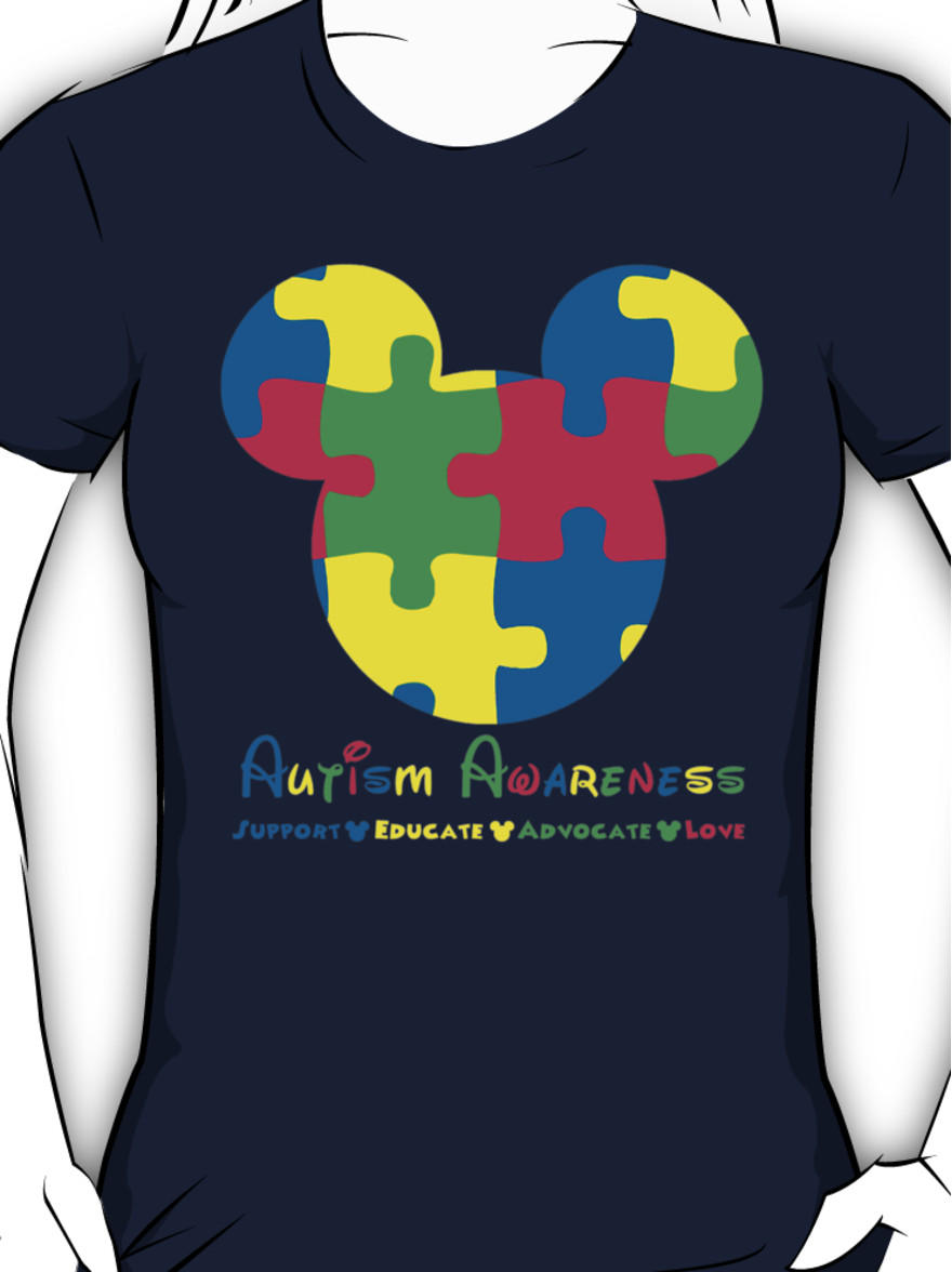Mickey Mouse Autism Awareness Women S From Redbubble Quick