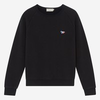 Tricolor Fox Sweatshirt Black
