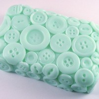 Button Soap - Fresh Laundry Fragrance with Shea Butter - Cute As A Button