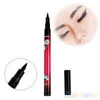 Black Waterproof Eyeliner Liquid Makeup Pen Natural Comestic Eye Liner Pencil 4DZS