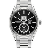 Tag Heuer Mens Carrera Calibre Stainless Steel Watch