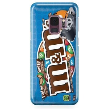 M&M Fretzel Chocolate Candies Samsung Galaxy S9 Case | Casefantasy
