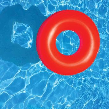 Swimming Pool Floaty Donut Backdrop - 6146
