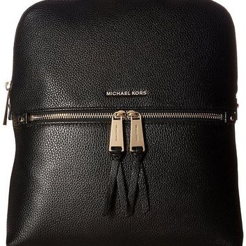 ESBON3F MICHAEL Michael Kors Rhea Zip Medium Slim Backpack