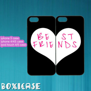 Best Friends---iphone 4 case,iphone 5 case,ipod touch 4 case,ipod touch 5 case,in plastic,silicone and black,white.