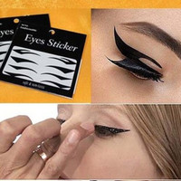 Trendy Design Temporary Eye Tattoo Transfer Eyeshadow Eyeliner Stickers = 5660912001