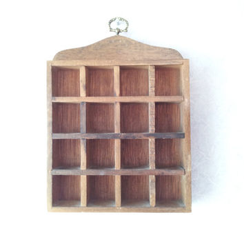 Thimble display shelf, printers drawer, printers tray, UK, industrial chic, wall display, display frame, europeanstreetteam