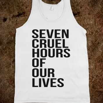 SCHOOL : SEVEN CRUEL HOURS OF OUR LIVES