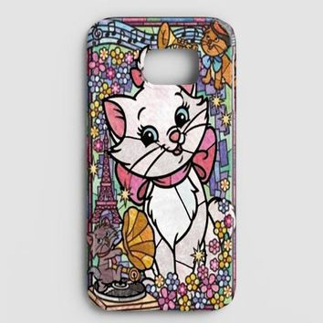 Marie Cat DisneyS The Aristocats Stained Glass Samsung Galaxy Note 8 Case