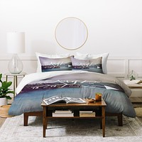 Leah Flores The Aim Of Life Duvet Cover