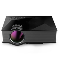 UNIC UC46+ Wireless WIFI Portable Mini Projector Full HD Multimedia Video Home Cinema LED Projector Black - m.tmart.com