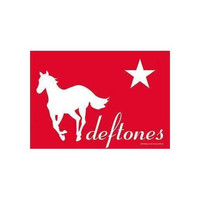 Deftones Red Pony Fabric Poster