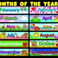 Carson Dellosa Months of the Year Chart (6277)