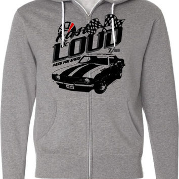 Muscle Car Shirt-Camaro Z28-Fast and Loud-Retro Look-Classic Muscle car hoodie