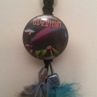 Led Zepplin feathered roach, blunt clip or car mirror accessorie