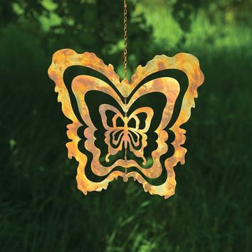 Cutout Butterfly Hanging Ornament - New item! Pre-order for August!