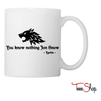 You know nothing Jon Snow (Game of Thrones) Coffee & Tea Mug