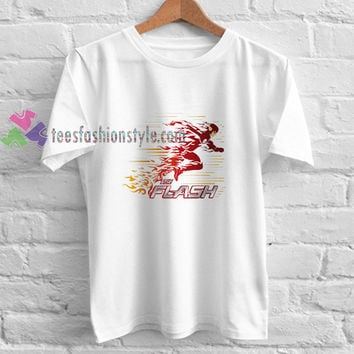Running the flash t shirt gift tees unisex adult cool tee shirts