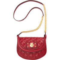 Marc Jacobs Quilted Noho Saddle Bag