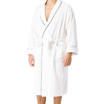Men's Premier Turkish-Style Full Length Terry Cloth Spa Robe
