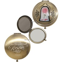 Licensed cool Disney Beauty & the Beast Live Action Film Enchanted Rose Hinge Compact Mirror
