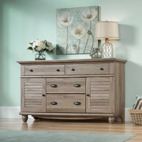 Walmart: Sauder Harbor View 4-Dresser, Salt Oak