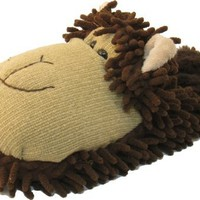 Ladies Girls Women Cute Beige Brown Monkey Slippers item# kk2324