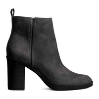 Zipped ankle boots - Black - Ladies | H&M GB