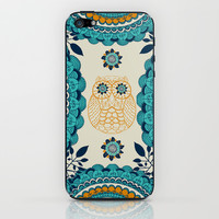 BOHO Owl iPhone & iPod Skin by rskinner1122