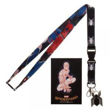 Spider-Man Homecoming Lanyard