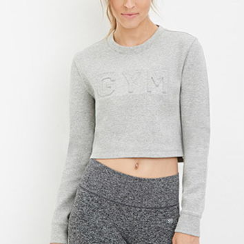Heathered Gym Pullover