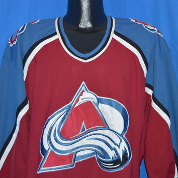 90s Colorado Avalanche Jersey t-shirt Extra Large