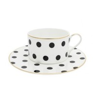 Loulou Spotty Teacup and Saucer