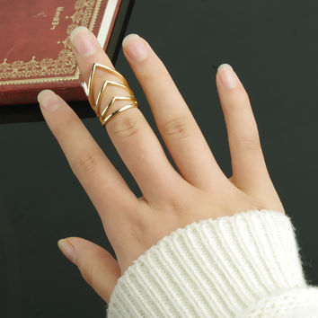 Shiny Jewelry New Arrival Gift Stylish Punk Ring [4918838724]