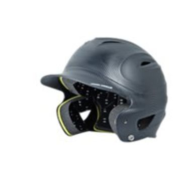Under Armour UA Matte Black Carbon Tech Batting Helmet