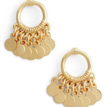 Argento Vivo Vermeil Frontal Drop Earrings | Nordstrom